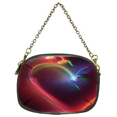 Neon Heart Chain Purses (two Sides)