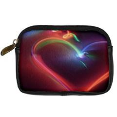 Neon Heart Digital Camera Cases