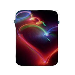 Neon Heart Apple Ipad 2/3/4 Protective Soft Cases