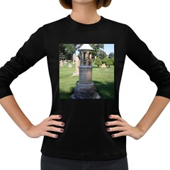 Headstone Pettigrew Women s Long Sleeve Dark T-Shirts