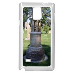 Headstone Pettigrew Samsung Galaxy Note 4 Case (White)