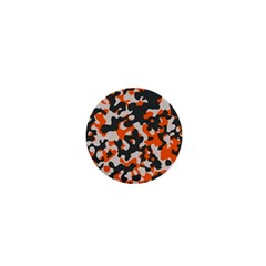 Camouflage Texture Patterns 1  Mini Buttons