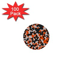 Camouflage Texture Patterns 1  Mini Buttons (100 pack)