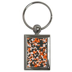 Camouflage Texture Patterns Key Chains (rectangle)