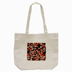 Camouflage Texture Patterns Tote Bag (cream)