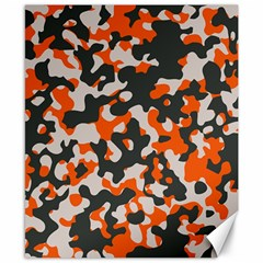Camouflage Texture Patterns Canvas 8  X 10