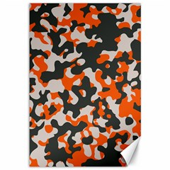 Camouflage Texture Patterns Canvas 12  X 18
