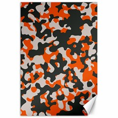 Camouflage Texture Patterns Canvas 20  X 30