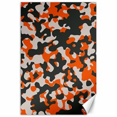 Camouflage Texture Patterns Canvas 24  x 36