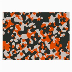Camouflage Texture Patterns Large Glasses Cloth