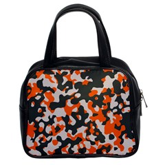 Camouflage Texture Patterns Classic Handbags (2 Sides)