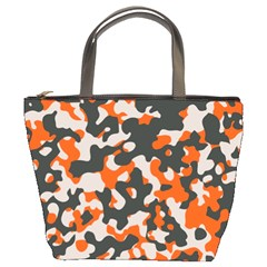 Camouflage Texture Patterns Bucket Bags