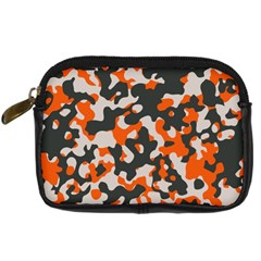 Camouflage Texture Patterns Digital Camera Cases