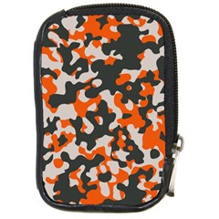 Camouflage Texture Patterns Compact Camera Cases