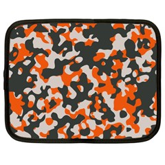 Camouflage Texture Patterns Netbook Case (xl)