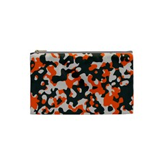 Camouflage Texture Patterns Cosmetic Bag (small)