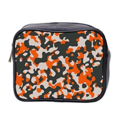 Camouflage Texture Patterns Mini Toiletries Bag 2-Side