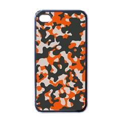 Camouflage Texture Patterns Apple Iphone 4 Case (black)