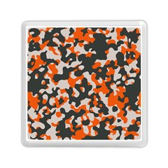 Camouflage Texture Patterns Memory Card Reader (square)