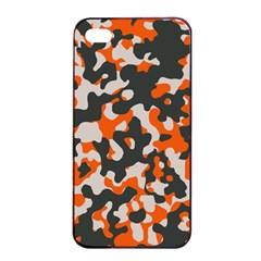 Camouflage Texture Patterns Apple Iphone 4/4s Seamless Case (black)