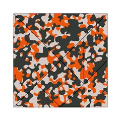 Camouflage Texture Patterns Acrylic Tangram Puzzle (6  x 6 )