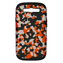 Camouflage Texture Patterns Samsung Galaxy S III Hardshell Case (PC+Silicone)