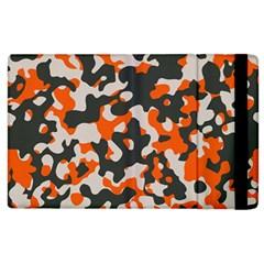 Camouflage Texture Patterns Apple iPad 3/4 Flip Case