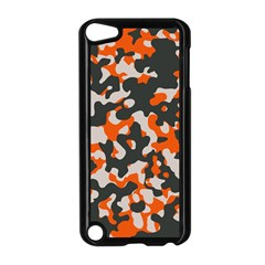 Camouflage Texture Patterns Apple iPod Touch 5 Case (Black)