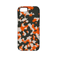Camouflage Texture Patterns Apple Iphone 5 Classic Hardshell Case (pc+silicone)