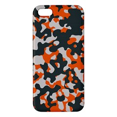 Camouflage Texture Patterns Apple Iphone 5 Premium Hardshell Case
