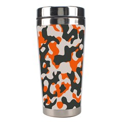 Camouflage Texture Patterns Stainless Steel Travel Tumblers