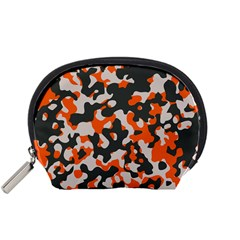 Camouflage Texture Patterns Accessory Pouches (small)