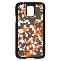 Camouflage Texture Patterns Samsung Galaxy S5 Case (black)