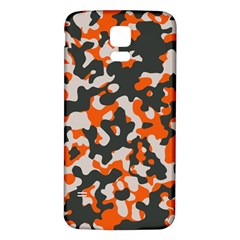 Camouflage Texture Patterns Samsung Galaxy S5 Back Case (White)