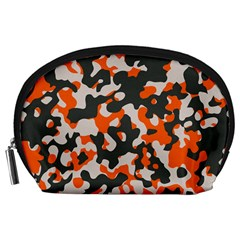 Camouflage Texture Patterns Accessory Pouches (large)