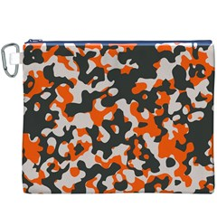 Camouflage Texture Patterns Canvas Cosmetic Bag (xxxl)