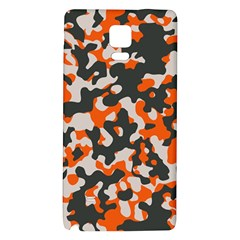 Camouflage Texture Patterns Galaxy Note 4 Back Case