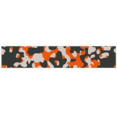 Camouflage Texture Patterns Flano Scarf (Large)