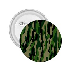 Green Military Vector Pattern Texture 2.25  Buttons