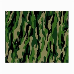 Green Military Vector Pattern Texture Small Glasses Cloth