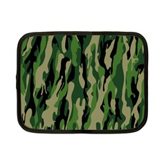 Green Military Vector Pattern Texture Netbook Case (Small)