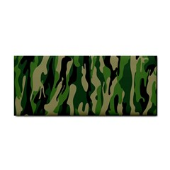 Green Military Vector Pattern Texture Cosmetic Storage Cases
