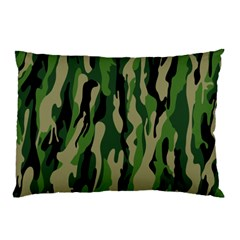 Green Military Vector Pattern Texture Pillow Case