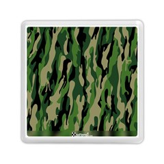 Green Military Vector Pattern Texture Memory Card Reader (square)