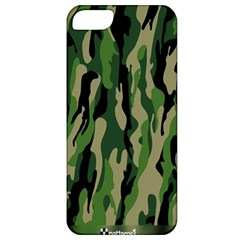 Green Military Vector Pattern Texture Apple Iphone 5 Classic Hardshell Case