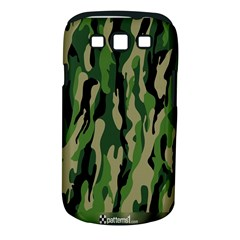Green Military Vector Pattern Texture Samsung Galaxy S Iii Classic Hardshell Case (pc+silicone)