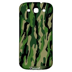 Green Military Vector Pattern Texture Samsung Galaxy S3 S Iii Classic Hardshell Back Case