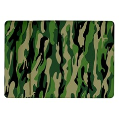 Green Military Vector Pattern Texture Samsung Galaxy Tab 10 1  P7500 Flip Case