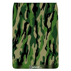 Green Military Vector Pattern Texture Flap Covers (L)