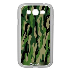 Green Military Vector Pattern Texture Samsung Galaxy Grand DUOS I9082 Case (White)